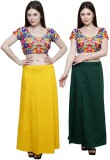eFashionIndia Yellow_Green Cotton Pettic...