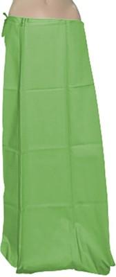 Swaroopa Deluxe LawnGreen-1 Poplin Petticoat
