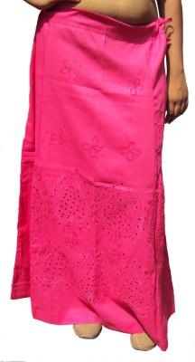 New Life Enterprise Hath0713-Deep pink Cotton Petticoat