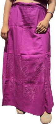 New Life Enterprise Hath0829-Purple Cotton Petticoat