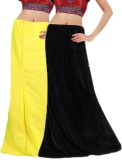 Javuli in-black-yellow Cotton Petticoat ...