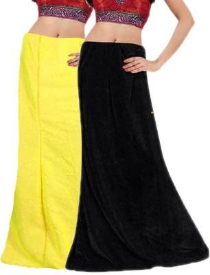 Javuli ja1-in-black-yellow Cotton Petticoat