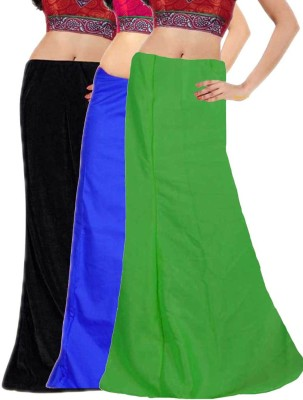 Javuli in-black-blue-green Cotton Petticoat