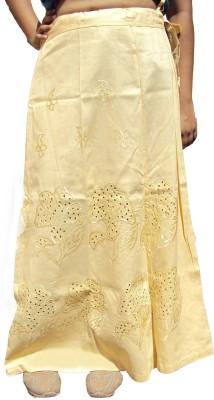 New Life Enterprise Hath0857-Light Gold Cotton Petticoat