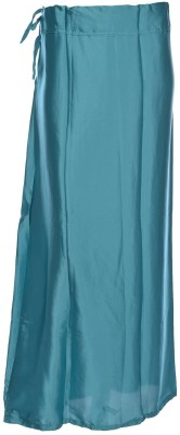 MSM mmlightbluesatinL Satin Petticoat(Large)