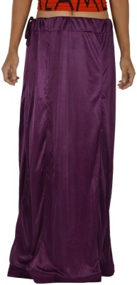 Legginstore Dark-Purple Satin Petticoat