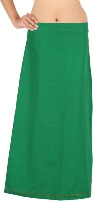 MEENAVISION MVPETTICOAT-GREEN-06 Cotton Petticoat(Large)