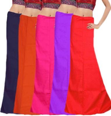 Javuli in-com5-purple-red-navy-orange-pink Cotton Petticoat