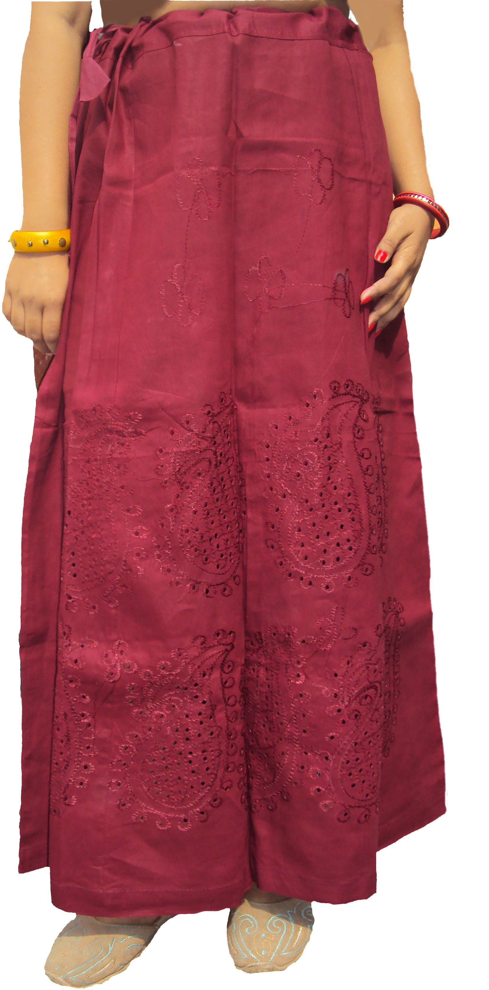 Hand Art Hath0347 Cotton Petticoat(XXL)