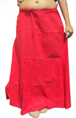 New Life Enterprise Hath0855-Red Cotton Petticoat
