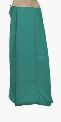Swaroopa Deluxe Green-295 Poplin Petticoat