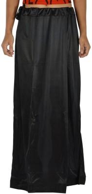 Legginstore Black Satin Petticoat