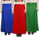 eFashionindia Blue_Red_Green_Petticoat C...