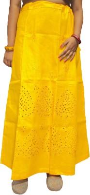 New Life Enterprise Hath0338-Yellow_M Cptton Petticoat