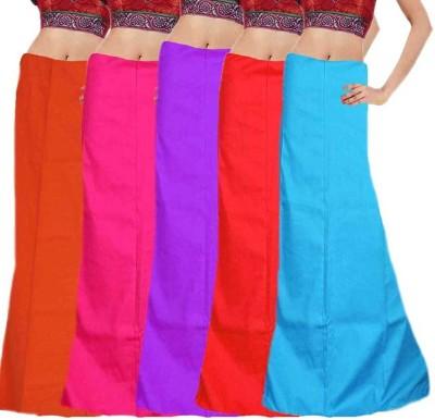eFashionIndia Orange_Pink_Purple_Red_Blue_Petticoat Cotton Petticoat