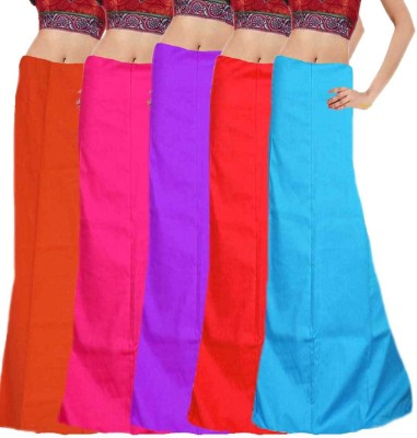 Javuli in-com5-purple-red-sky-orange-pink Cotton Petticoat