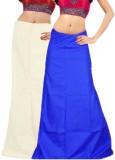 Javuli in-white-blue Cotton Petticoat (X...