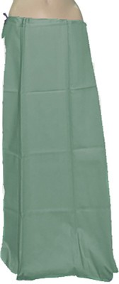 Swaroopa Deluxe Green-298 Poplin Petticoat