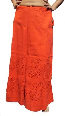 New Life Enterprise Hath0858-Orange Cotton Petticoat