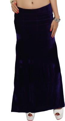 Carrel CARREL-PETTICOAT-104-BLUE Lycra Fugi Foil Petticoat(Medium)