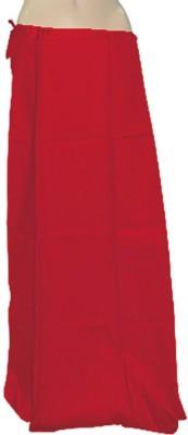 Swaroopa Deluxe Red-26 Poplin Petticoat