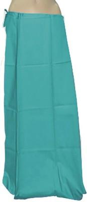 Swaroopa Deluxe Blue-203 Poplin Petticoat