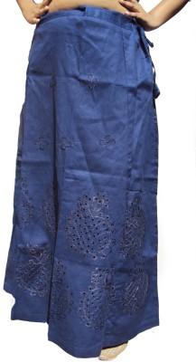 New Life Enterprise Hath0863-Royal Blue Cotton Petticoat