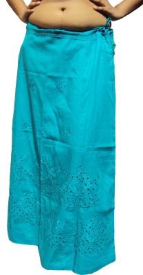 New Life Enterprise Hath0862-Sea Green Cotton Petticoat