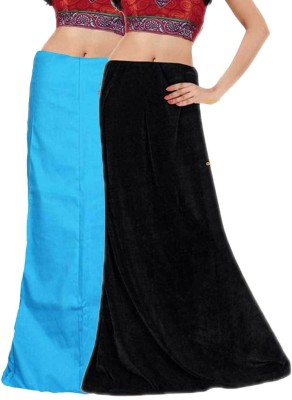 Javuli ja1-in-skyblue-black Cotton Petticoat