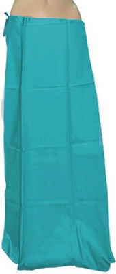 Swaroopa Deluxe Blue-100 Poplin Petticoat