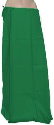 Swaroopa Deluxe ForestGreen-127 Poplin Petticoat