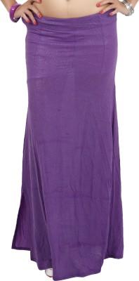 Carrel CARREL-PETTICOAT-104-PURPLE Lycra Fugi Foil Petticoat(Medium)