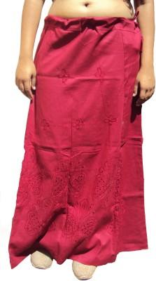 New Life Enterprise Hath0849-Maroon Cotton Petticoat