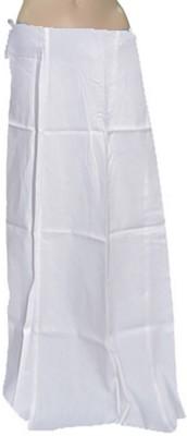 Swaroopa Deluxe White-70 Poplin Petticoat