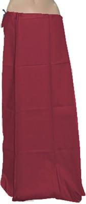 Swaroopa Deluxe Maroon-305 Poplin Petticoat