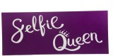 WedTalk QUEEN00C2N Photo Booth Board (Pa...