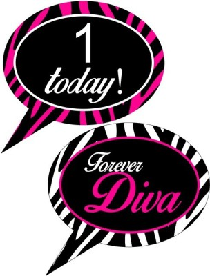 Fancy Steps Forever Diva Photo Booth Board