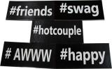 WedTalk HASHTG2C2N Photo Booth Board (Pa...