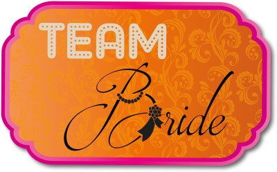 TBT Team Bride Party Prop Photo Booth Board