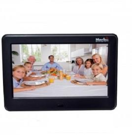 """Merlin 8"""" Digital Photoframe 8 inch Digital(4 GB, Black)"""