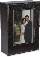 Eco-Leatherette KRB 4x6 inch  Photo Frame(Brown)