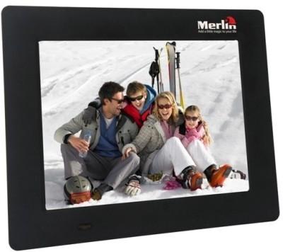 Merlin 7520 7 inch  Photo Frame(Black)