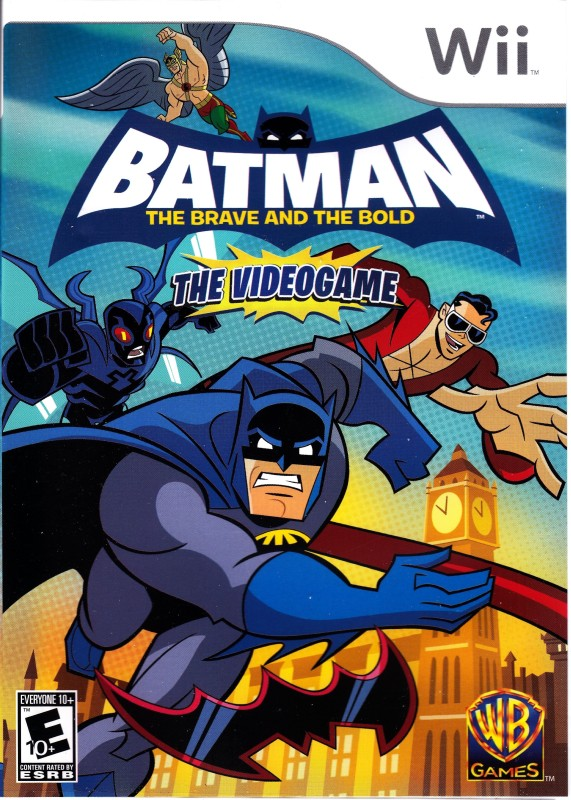 Batman : The Brave and the Bold(for Wii)