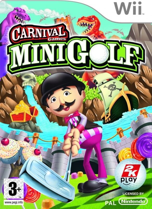Carnival Games : Mini Golf(for Wii)
