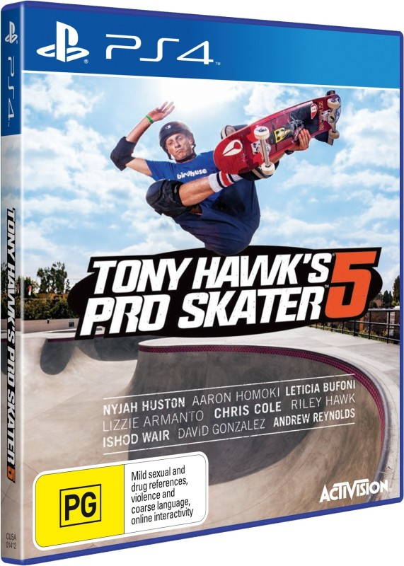 Tony Hawk's Pro Skater 5(for PS4)