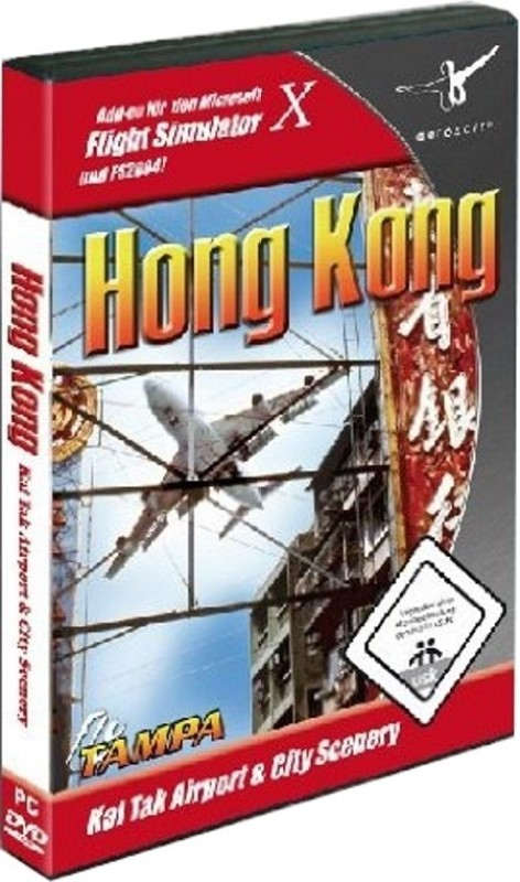 Hong Kong : Kai Tak Airport & City Scenery(Game and Expansion Pack for PC)