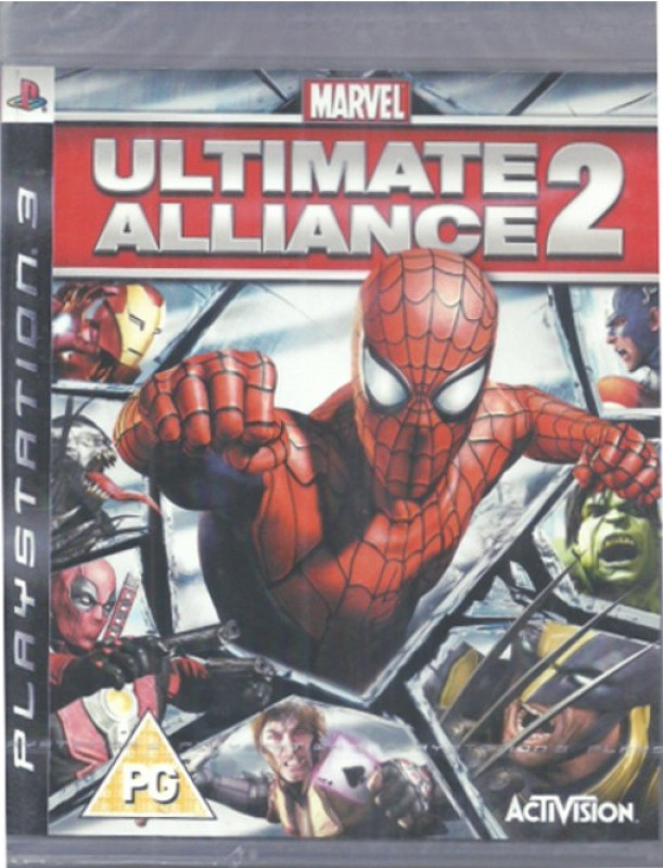 Marvel: Ultimate Alliance 2(for PS3)