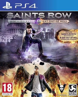 Saints Row IV : Re - Elected & Gat Out of Hell