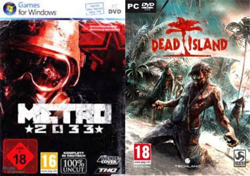 METRO 2033 & DEAD ISLAND(for PC)