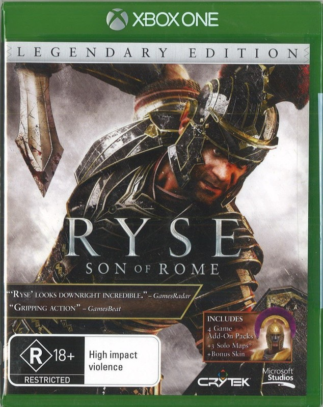 Ryse: Son of Rome (Legendary Edition)(for Xbox One)